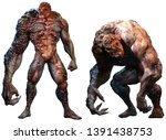 Mutant Abomination Monsters 3d...