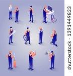 car repair service isometric...   Shutterstock .eps vector #1391449823