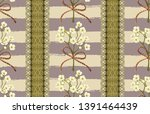 vintage beautiful and trendy...   Shutterstock . vector #1391464439