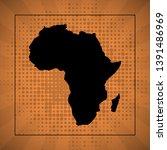 sketch blot dotty african... | Shutterstock .eps vector #1391486969