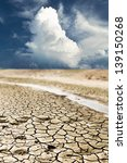 dry cracks in the land  serious ... | Shutterstock . vector #139150268