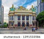 The Theatro Municipal (Municipal Theatre) is an opera house in the Centro district of Rio de Janeiro, Brazil