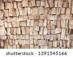 neutral brown textured wood... | Shutterstock . vector #1391545166