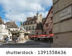 dijon  france   september 24 ... | Shutterstock . vector #1391558636