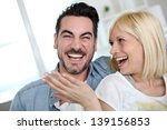 in love couple chilling out | Shutterstock . vector #139156853