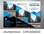 business brochure. flyer design.... | Shutterstock .eps vector #1391606033
