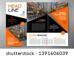 business brochure. flyer design.... | Shutterstock .eps vector #1391606039