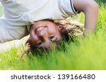 portraits of happy kids playing ... | Shutterstock . vector #139166480