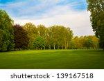 beautiful summer landscape.... | Shutterstock . vector #139167518