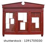 wooden board for church... | Shutterstock . vector #1391705030