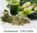 fresh juice smoothie made with... | Shutterstock . vector #139172630