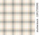 seamless tartan check plaid in... | Shutterstock .eps vector #1391735390