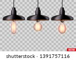 decorative   light bulb in... | Shutterstock .eps vector #1391757116
