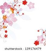 floral background | Shutterstock .eps vector #139176479