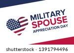 military spouse appreciation... | Shutterstock .eps vector #1391794496