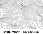 wave lines pattern abstract... | Shutterstock .eps vector #1391802809
