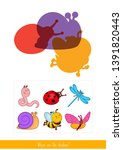 educational children game.... | Shutterstock .eps vector #1391820443