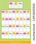 educational children game.... | Shutterstock .eps vector #1391820503