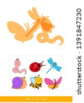 educational children game.... | Shutterstock .eps vector #1391847230