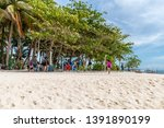 apr 27  2019 people on holiday... | Shutterstock . vector #1391890199