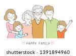 vector illustration character... | Shutterstock .eps vector #1391894960