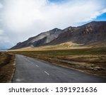 leh to manali route scenery | Shutterstock . vector #1391921636