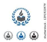 education logo   book logo...   Shutterstock .eps vector #1391923979