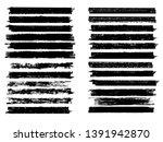 grunge paint roller . vector... | Shutterstock .eps vector #1391942870