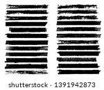 grunge paint roller . vector... | Shutterstock .eps vector #1391942873