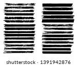grunge paint roller . vector... | Shutterstock .eps vector #1391942876