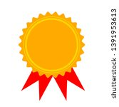 certification seal icon  ... | Shutterstock .eps vector #1391953613