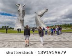 falkirk  scotland  2016  june... | Shutterstock . vector #1391959679