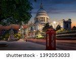 The Iconic St. Pauls Cathedral...