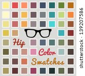 vector large set of cool color... | Shutterstock .eps vector #139207586