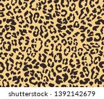 simple seamless brown and beige ... | Shutterstock .eps vector #1392142679