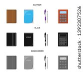 vector illustration of office... | Shutterstock .eps vector #1392307526