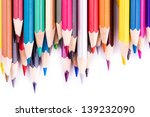 colour pencils isolated on... | Shutterstock . vector #139232090