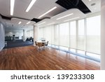 interior of an office in a... | Shutterstock . vector #139233308