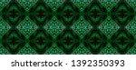 snake skin. black  green  white ...   Shutterstock . vector #1392350393