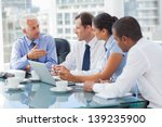 group of business people... | Shutterstock . vector #139235900