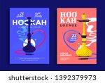 Smoking Hookah Lounge Poster...