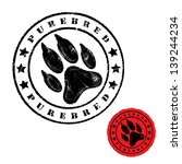 advertising,animal,badge,banner,cartoon,cat,claws,dog,foot,foot print,footprint,graphic,grunge,hound,illustration