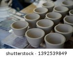 has not been fired ceramic... | Shutterstock . vector #1392539849