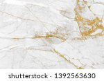 white gold marble texture... | Shutterstock . vector #1392563630