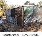 potting shed shade house... | Shutterstock . vector #1392610433