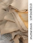 close up of old ruin cardboard... | Shutterstock . vector #1392638213