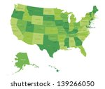 usa highly detailed map.all... | Shutterstock .eps vector #139266050