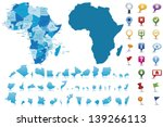 africa highly detailed map.all... | Shutterstock .eps vector #139266113