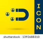 blue customer attracting icon... | Shutterstock .eps vector #1392688310