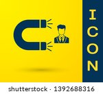 blue customer attracting icon... | Shutterstock .eps vector #1392688316